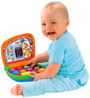 Fisher Price Laugh & Learn Learning Laptop (Multicolor)