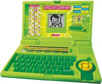 Arvin English Learner 20 Activities & Play Kids Laptop With Mouse Control (Green)