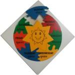 Indiangiftbazzar Learning & Educational Toys Indiangiftbazzar IGB Days Puzzle Round