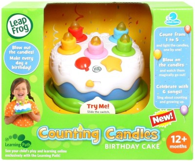 Leapfrog Counting Candles Birthday Cake India