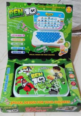 UV Global Mini Ben 10 Learning Laptop (Green)