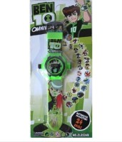 Rahul Toys Ben 10 Projector Watch For Kids (Multicolor)