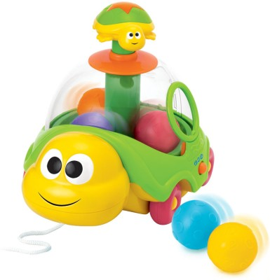 Flat 50% Off on Winfun Spin N Pull Turtle from Flipkart - Rs 749