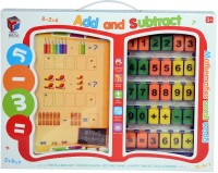Planet Of Toys Add And Subtract Mathematics Educational Interactive Toy (Multicolor)