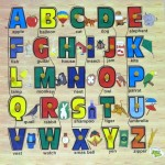 Dealbindaas Learning & Educational Toys Dealbindaas Wooden Puzzle Alphabets