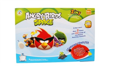Imported Angry Bird Space Learning Computer With Whiteboard (Red)
