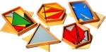 Pranavagamya Learning & Educational Toys Pranavagamya Montessori Sensorial Constructive Triangles