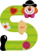 Sevi Learning & Educational Toys Sevi Letter S Clown