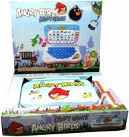 Turban Toys Angry Bird Mini English Learner Laptop (Multicolor)