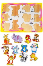 Priya Exports Learning & Educational Toys Priya Exports Animals Wooden Puzzle