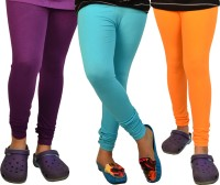 TSG My Kid Baby Girl's Leggings - Pack Of 3 - LJGDWZX5YDUVSTTA