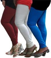 Rakshita's Collection Women's Leggings - Pack Of 3 - LJGDXHYMGJSHADSE
