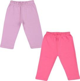 Color Fly Baby Girl's Pink, Purple Leggings