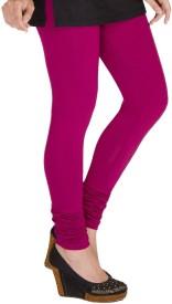 shreemangalammart Girl's Pink Leggings