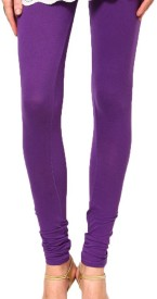 crazezone Girl's Purple Leggings