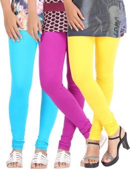 Be-Style Women's Leggings Pack Of 3