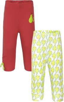 FS Mini Klub Baby Girl's Red Leggings Pack Of 2