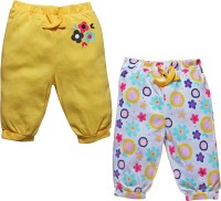 FS Mini Klub Baby Girl's Yellow Leggings (Pack Of 2)
