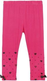 Barbie Baby Girl's Pink Leggings