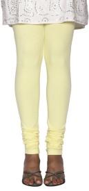 KANDIDA Women's Yellow Leggings