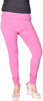 Kurtis By Menika Women's Pink Leggings
