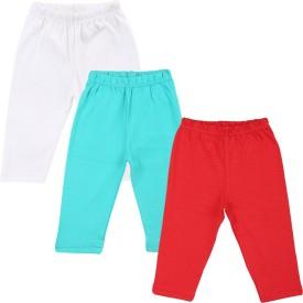 Color Fly Baby Girl's Red, Green, White Leggings