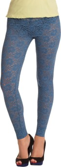 PrettySecrets Women's Blue Leggings