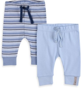 Mothercare Baby Girl's Blue Leggings Pack Of 2