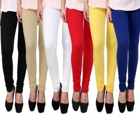 E'Hiose Girl's Multicolor Leggings