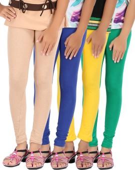 Be Style Women's Leggings Pack Of 4