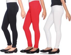 Red Ring Girl's Black, Red, White Leggings