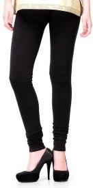 crazezone Girl's Black Leggings