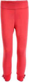 Posh Kids Baby Girl's Pink Leggings