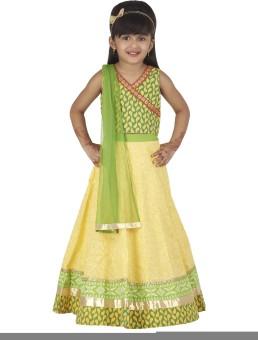 Super Young Printed Girl's Ghagra Choli