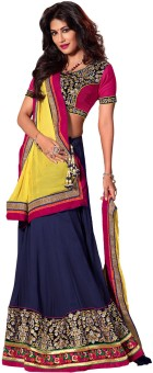 Fabdeal Self Design Women Lehenga Choli