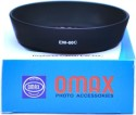 Omax EW-60C For CANON EF-S 18-55mm F/3.5-5.6 Lens Lens_hood (58 Mm, Black)