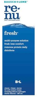 Bausch & Lomb Renu Fresh Multi-Purpose Solution (120 Ml)