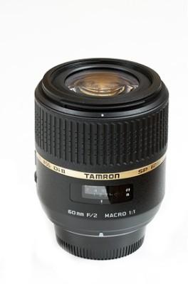 Tamron SP 60 mm F/2.0 Di II 1:1 Macro for Canon Digital SLR  Lens