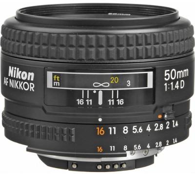 Buy Nikon AF Nikkor 50 mm f/1.4D Lens: Lens
