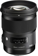 Sigma 50 mm f/1.4 DG HSM Art Lens for Canon Cameras