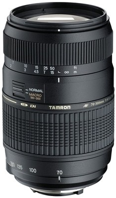Buy Tamron AF 70 - 300 mm F/4-5.6 Di LD Macro for Sony Digital SLR Lens: Lens