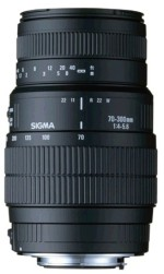 Sigma 70 300 mm F4 5.6 DG Macro for Nikon Digital SLR