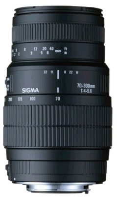 Buy Sigma 70 - 300 mm F4-5.6 APO DG Macro for Nikon Digital SLR Lens: Lens