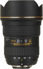 Tokina AT X 16 28 mm F2.8 PRO FX for Canon Digital SLR