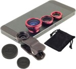 Fotonica Universal 3 in 1 Cell Phone Camera Lens Kit