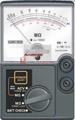 KM 41 500V Analog Insulation Tester