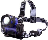 Divinext High Power Long Range LED Zoom FlashLight LED Headlamp (multicolor)