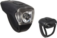 Btwin Vioo Cycle LED Front Rear Light Combo (Black)