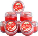 Vaadi Lip Balm - Set of 6 Strawberry, Honey