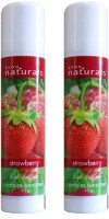 Avon Natural Strawberry Lip Balm (Set Of 2 Of 4.5g Each) Strawberry (9 G)